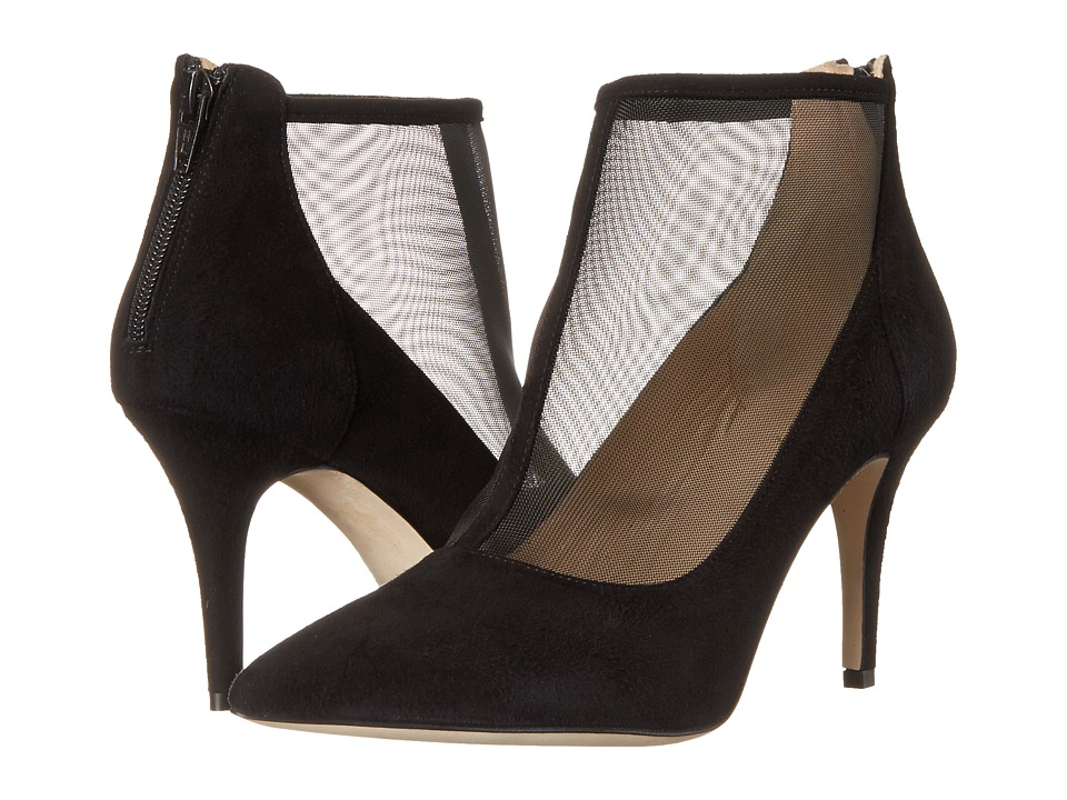 Massimo Matteo - Pump w/ Mesh (Black) Women's Shoes