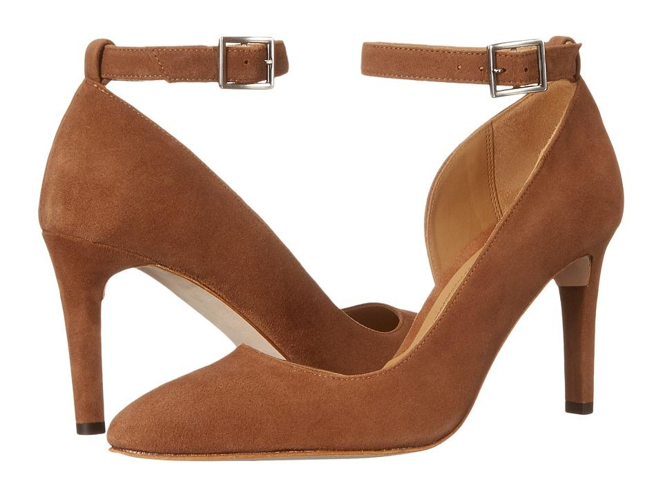 Massimo Matteo - Pump w/ Strap (Tobacco) Women's Shoes