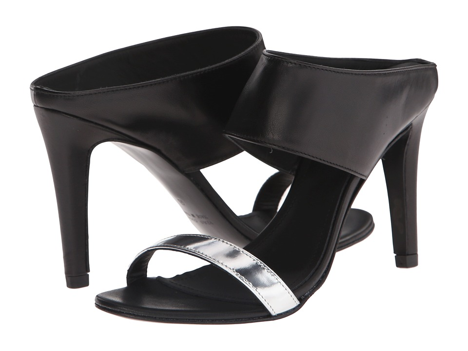 Massimo Matteo - Two-Tone Pump (Black/Silver) Women