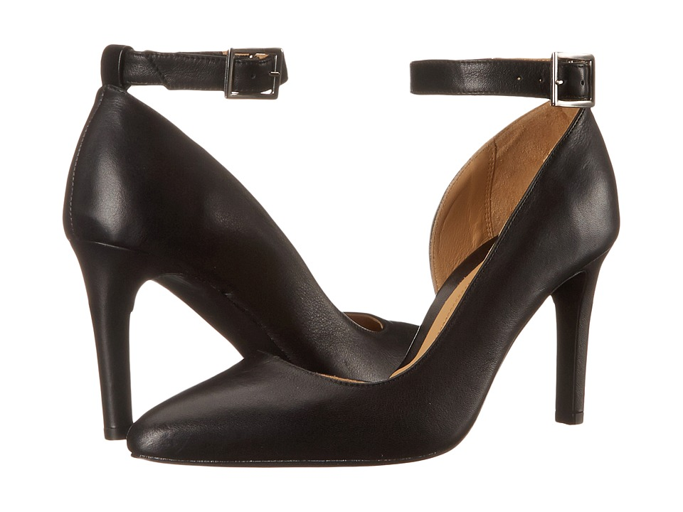 Massimo Matteo - Pump w/ Strap (Black) Women's Shoes