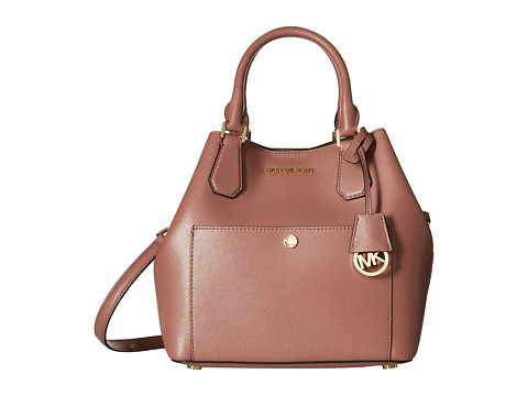 MICHAEL Michael Kors - Greenwich Large Grab Bag (Dusty Rose/Cinder) Bags