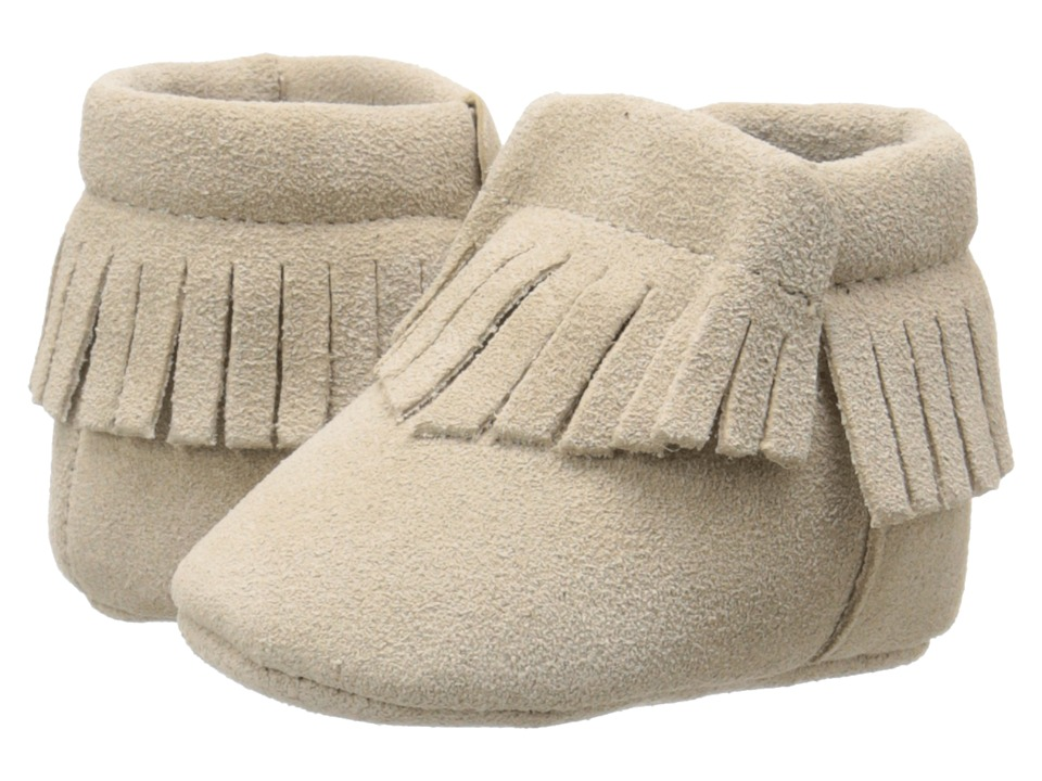 Baby Deer - Moccasin Suede (Infant) (Tan) Kids Shoes