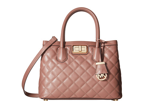 MICHAEL Michael Kors - Hannah Medium Satchel (Dusty Rose) Satchel Handbags