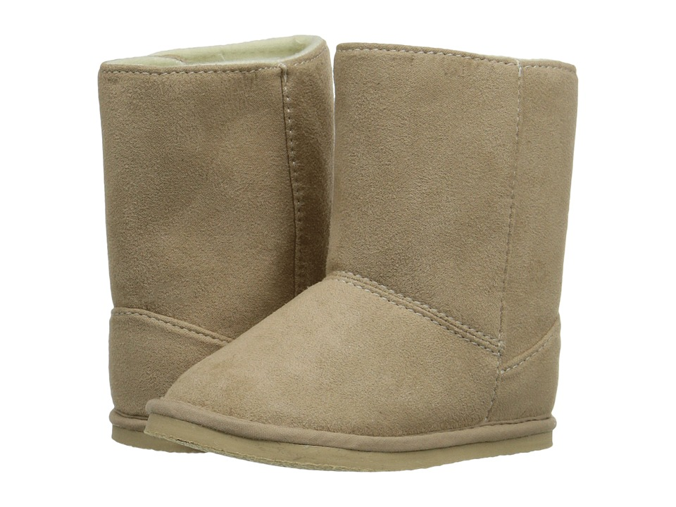 Baby Deer - Suede Boot (Infant/Toddler) (Tan 1) Kids Shoes