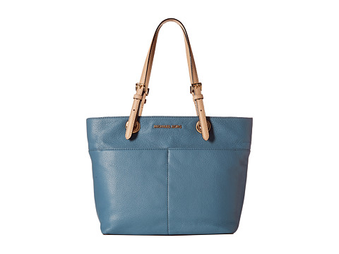 MICHAEL Michael Kors - Bedford Top-Zip Pocket Tote (Cornflower) Tote Handbags