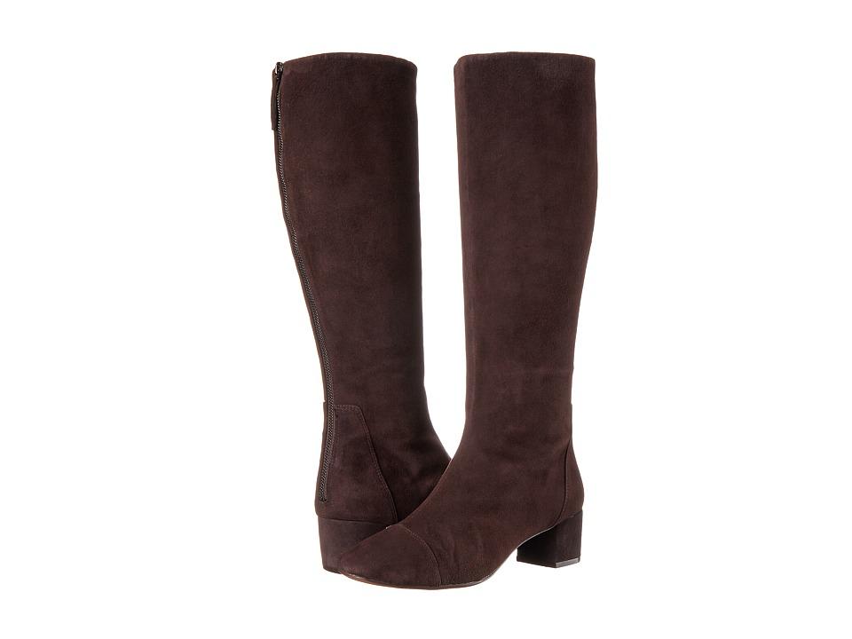 Nine West Anatolia Dark Brown Suede Boots