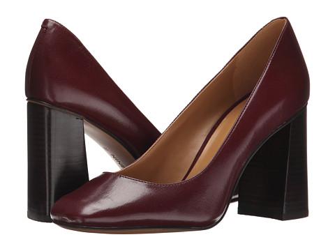 Nine West - Begonia (Dark Red Leather) High Heels