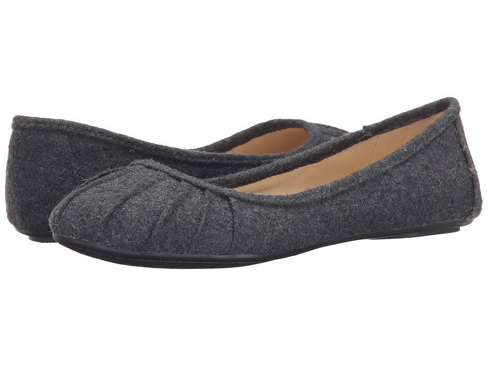 Nine West - Blustery (Dark Grey Fabric) Women's Flat Shoes