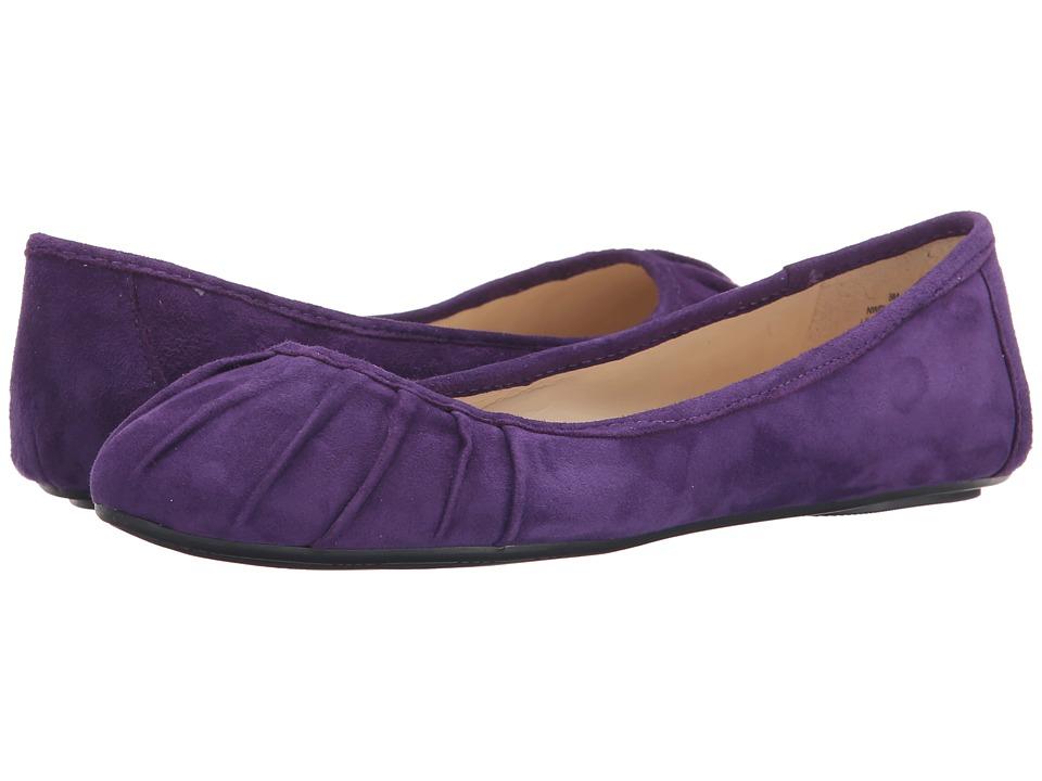 Nine West - Blustery (Dark Purple Suede) Women