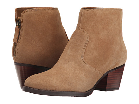 Nine West - Bolt (Dark Natural Suede) Women's Pull-on Boots