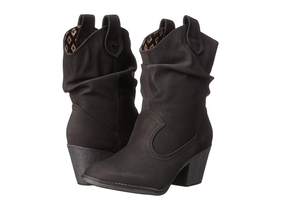 Rocket Dog - Sheriff (Black Saloon) Cowboy Boots