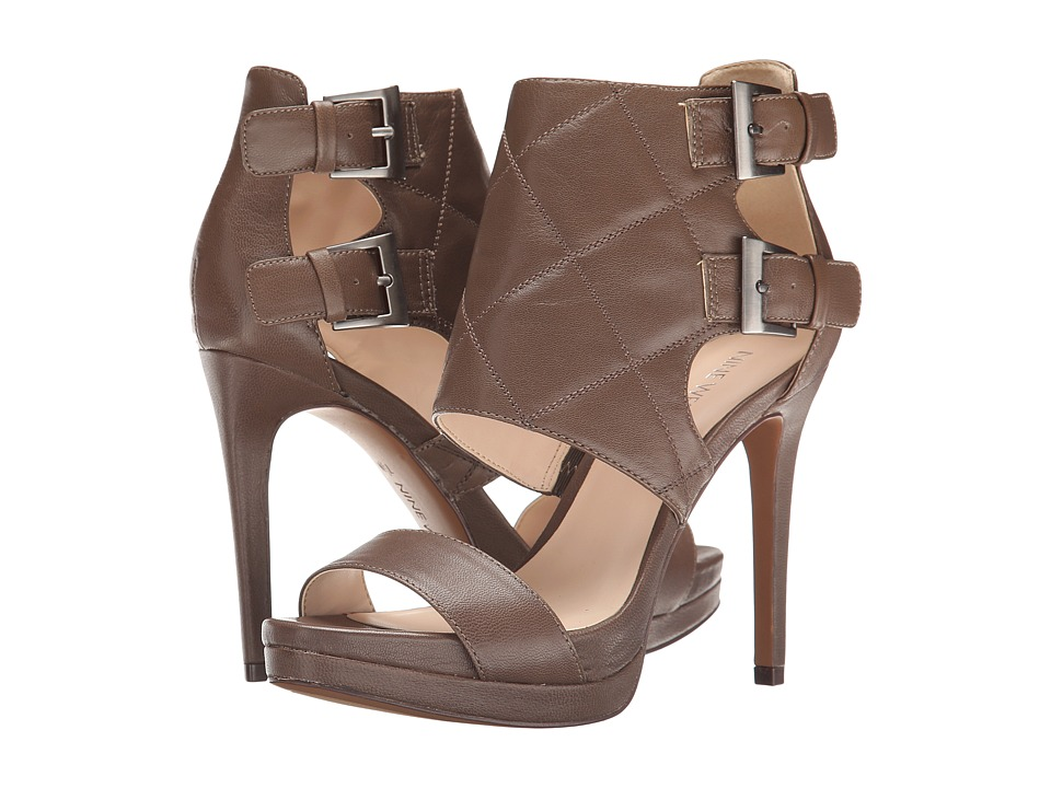 Nine West - Brakedance (Grey Leather) High Heels