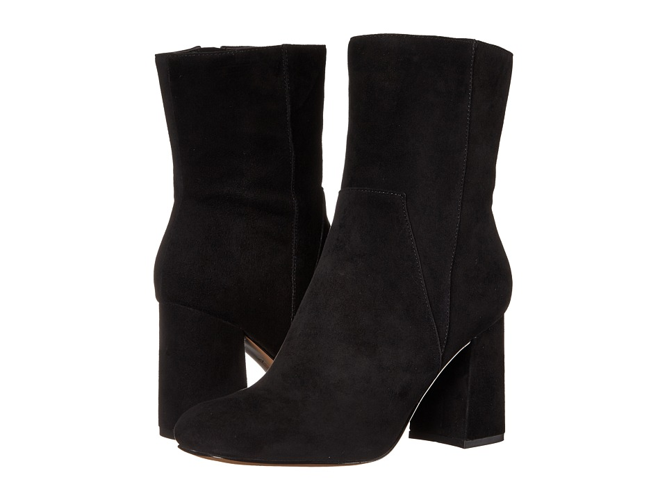 Nine West - Dollface (Black Suede) High Heels