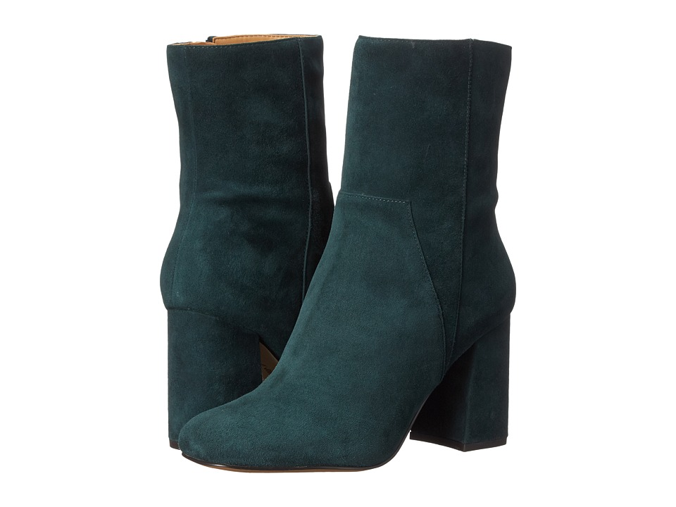 Nine West - Dollface (Dark Green Suede) High Heels