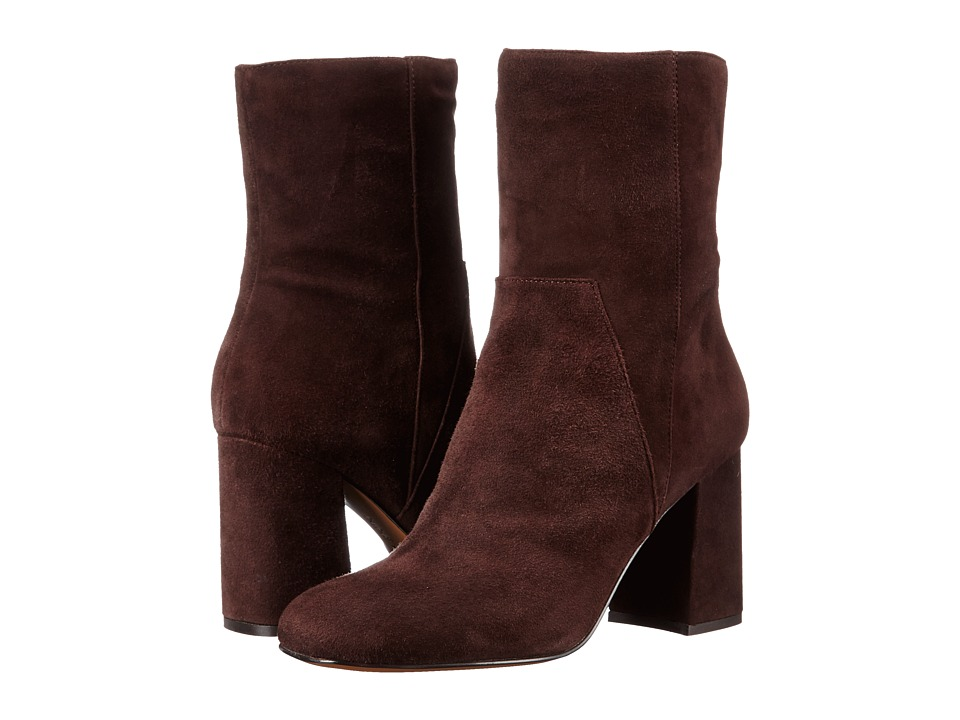 Nine West - Dollface (Dark Brown Suede) High Heels