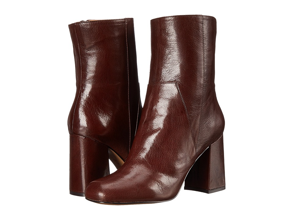 Nine West - Dollface (Dark Brown Leather) High Heels