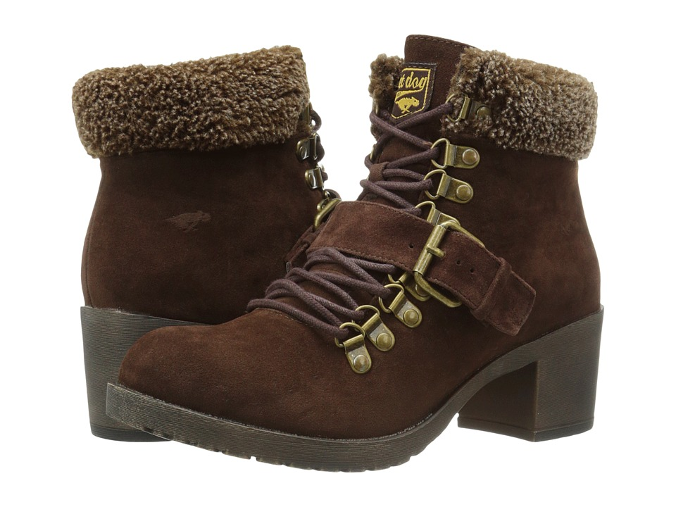 Rocket Dog - Howie (Brown Hush) Women's Lace-up Boots