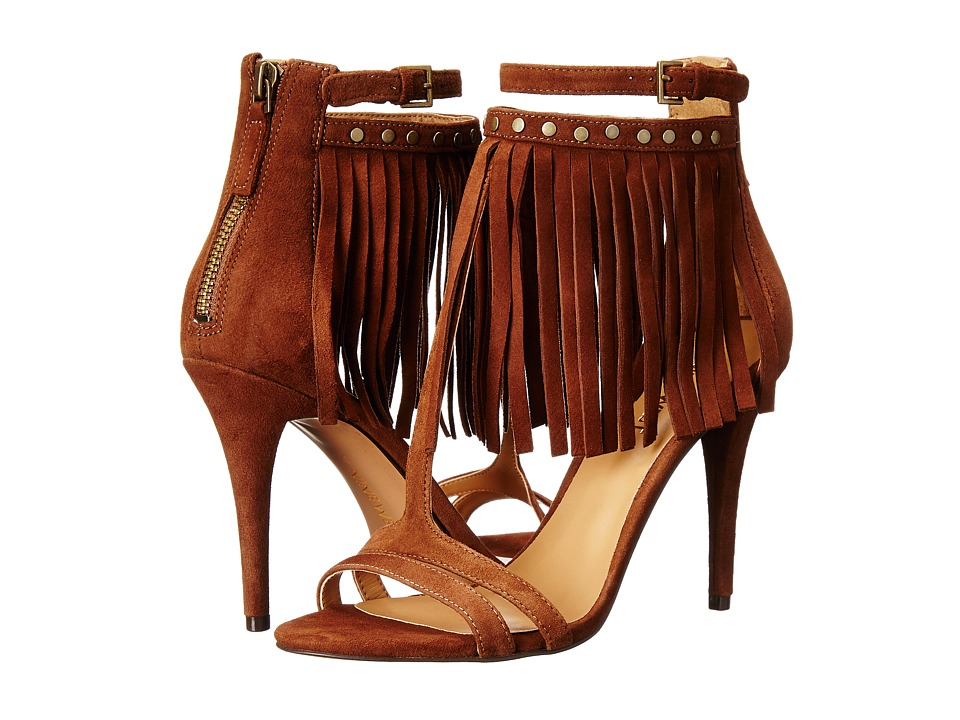 Nine West - Dontdare (Brown Suede) High Heels