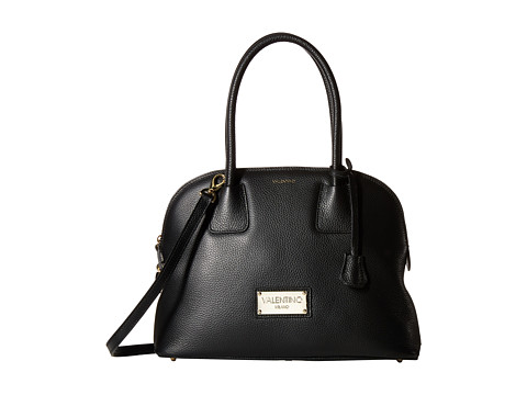 Valentino Bags by Mario Valentino - Abbey (Black) Satchel Handbags