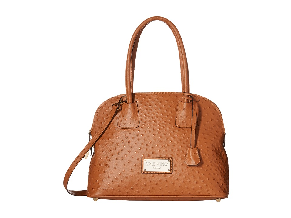 Valentino Bags by Mario Valentino - Abbey (Rust) Satchel Handbags
