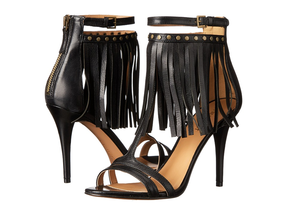 Nine West - Dontdare (Black Leather) High Heels