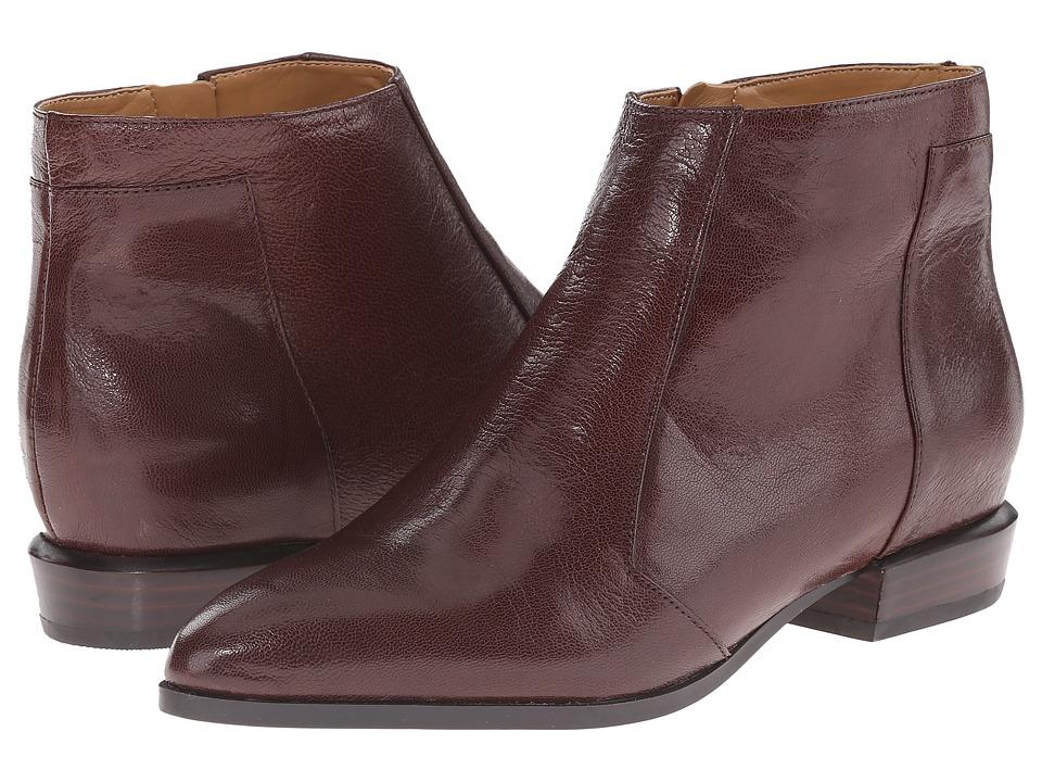Nine West - Dopler (Dark Brown Leather) Women