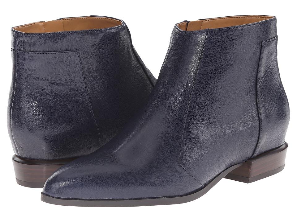 Nine West - Dopler (Navy Leather) Women