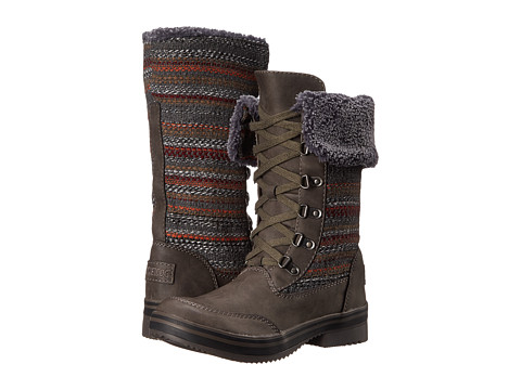 Rocket Dog - Suri (Grey Cozy Cover) Women's Lace-up Boots