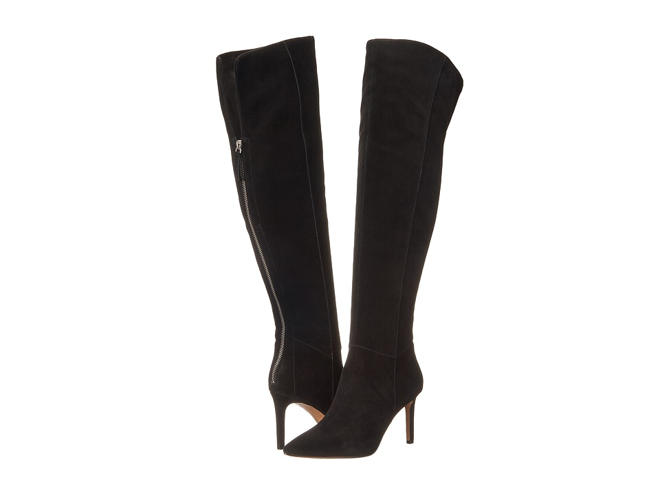Nine West - Equestrian (Black Suede) Women