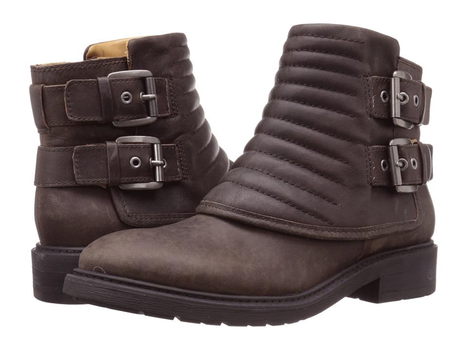 Nine West Gingham (Dark Brown Leather) Women