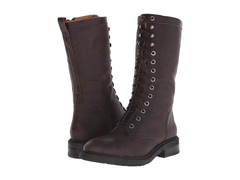 Nine West - Gunner (Dark Brown Leather) Women