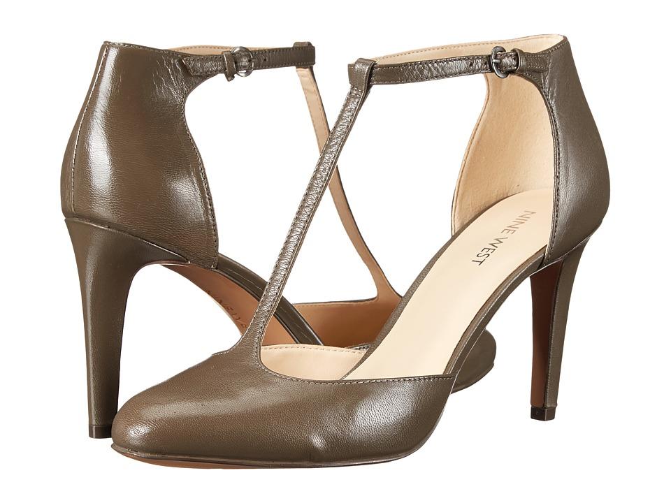 Nine West - Halinan (Grey Leather) High Heels