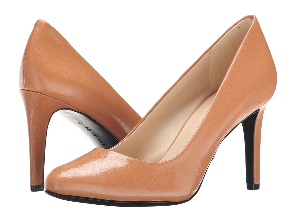 Nine West - Handjive (Natural Leather) High Heels
