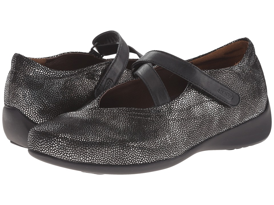 Wolky - Passion (Black Caviar) Women's Flat Shoes