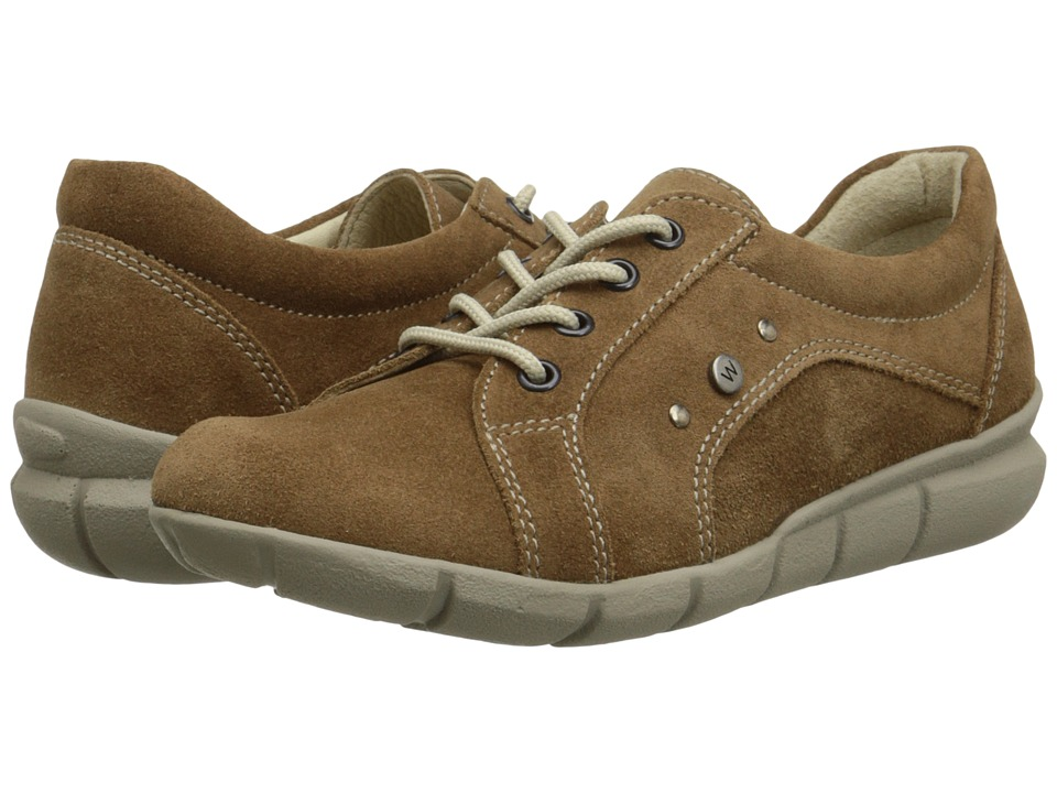 Wolky - Niobe (Bison Suede) Women's Lace up casual Shoes