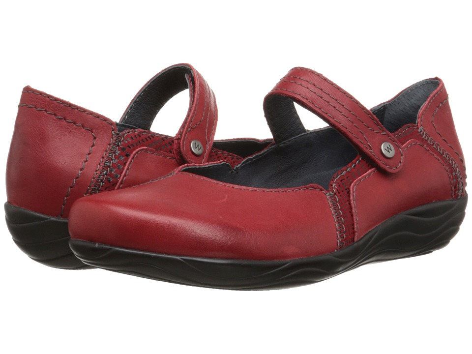 Wolky - Gila (Red Mighty/Dessin) Women's Shoes