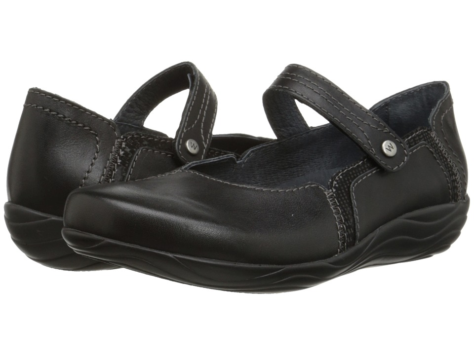 Wolky - Gila (Black Mighty/Dessin) Women's Shoes