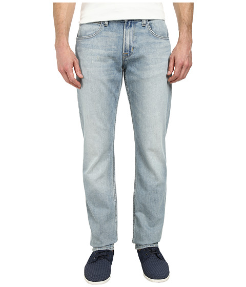 Hudson - Byron Five-Pocket Straight Zip Fly in Radius (Radius) Men's Jeans