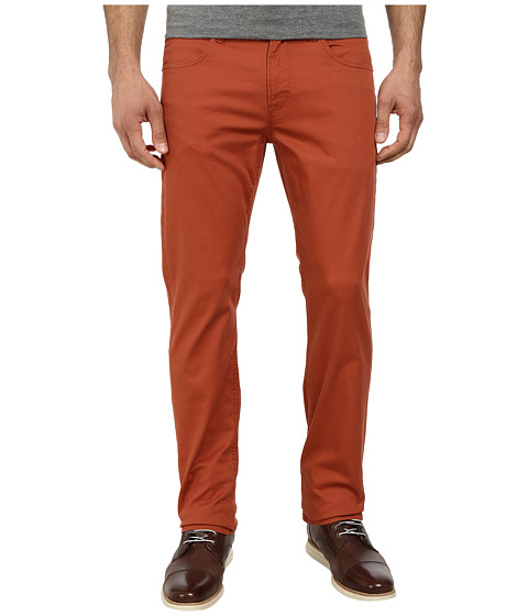 Hudson - Byron Five-Pocket Straight Zip Fly in Rust (Rust) Men's Jeans