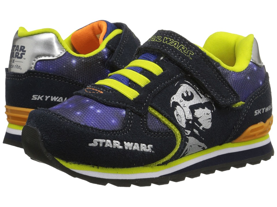 Stride Rite - Star Warstm Retro Skywalker (Toddler) (Navy) Boys Shoes