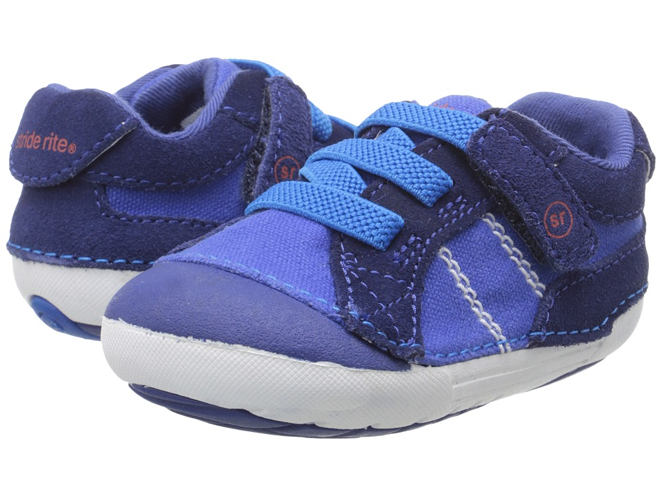 Stride Rite - SRT SM Goodwin (Infant/Toddler) (Cobalt) Boys Shoes