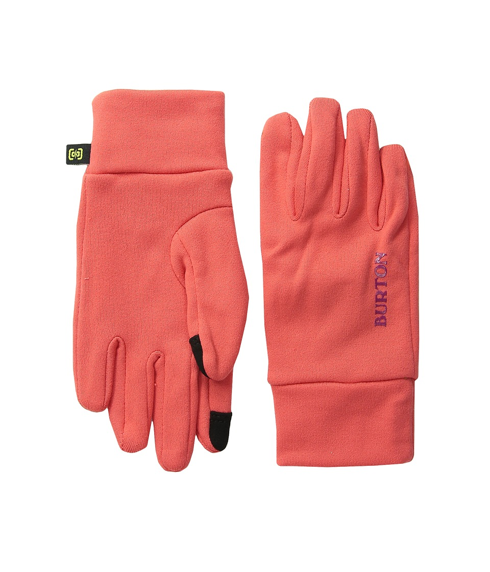 Burton - Screen Grab Liner Glove (Youth) (Tropic) Extreme Cold Weather Gloves