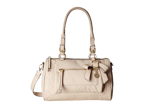 Jessica Simpson - Alicia Satchel (Cream) Satchel Handbags
