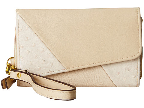 Jessica Simpson - Bella Index Wristlet (Light Taupe) Wristlet Handbags