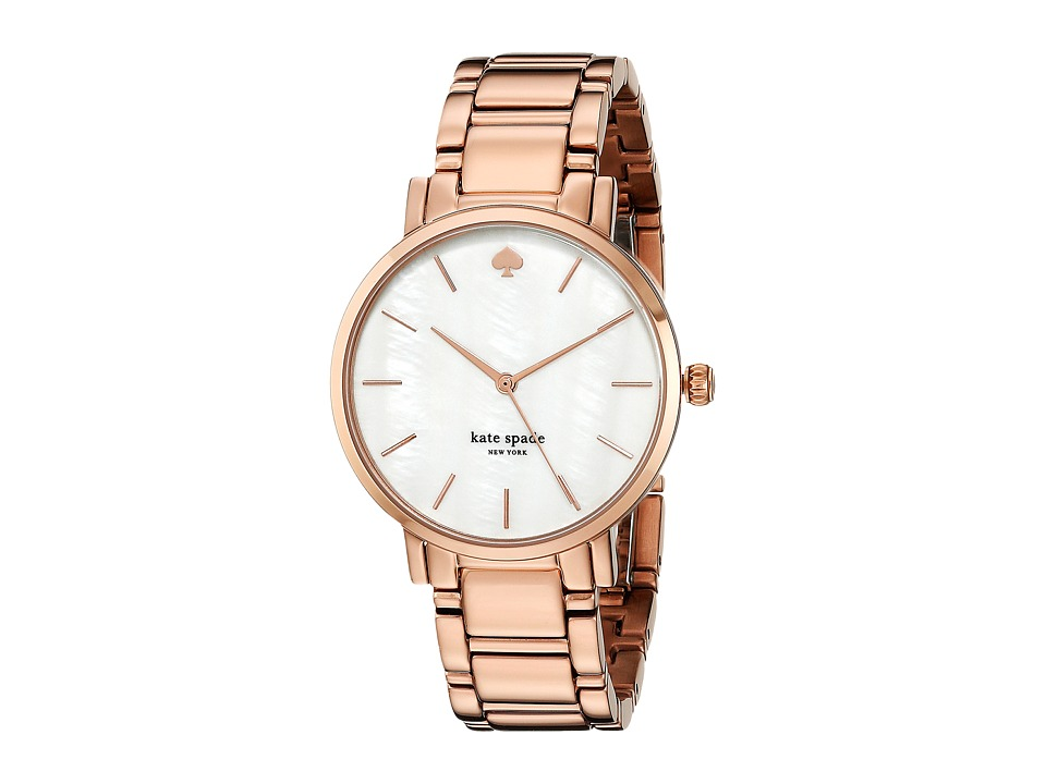 Kate Spade New York - Gramercy - 1YRU0003 (Rose Gold 1) Analog Watches