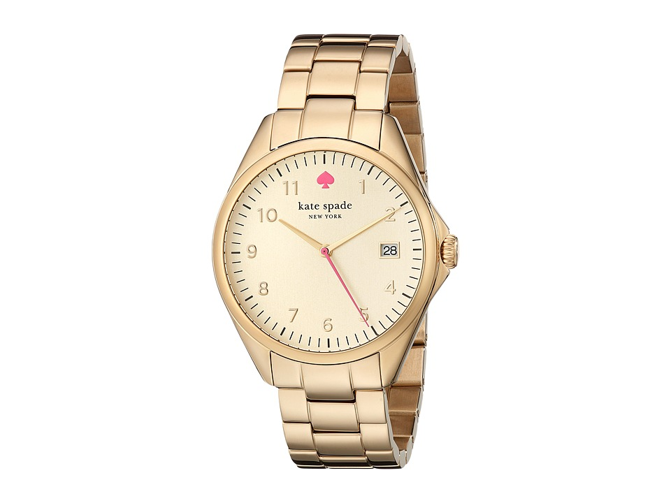 Kate Spade New York - Seaport Grand - 1YRU0030 (Gold 1) Analog Watches