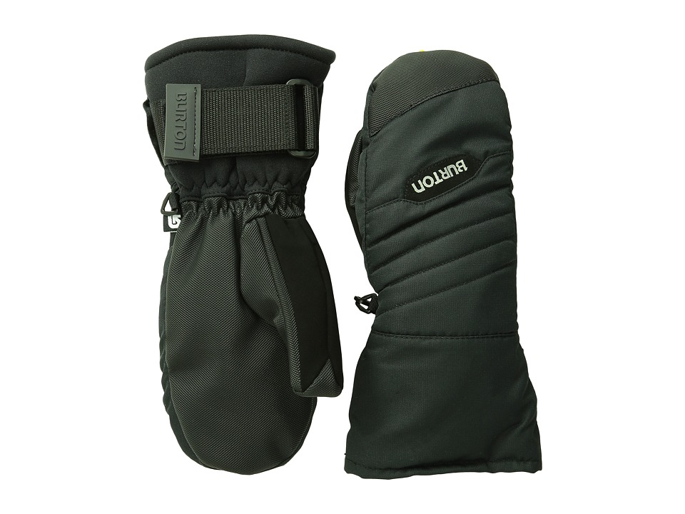 Burton - Support Mitt (Little Kids/Big Kids) (True Black) Extreme Cold Weather Gloves
