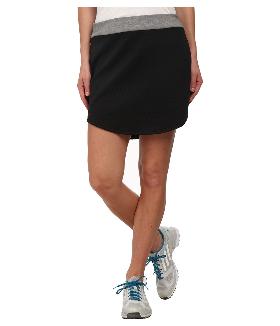adidas Golf - Tour Quilted Skort (Black) Women's Skort