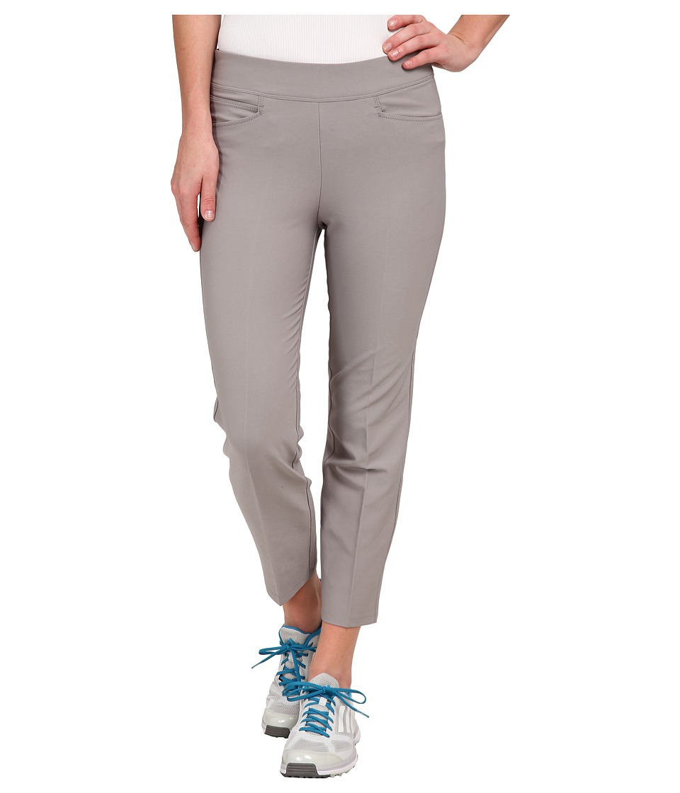 adidas Golf - Essentials Adislim ankle length Pant '16 (Charcoal Solid Grey) Women's Casual Pants