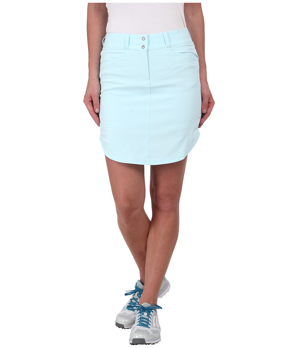 adidas Golf - Essentials 3-Stripes Skort '15 (Ice Blue) Women's Skort
